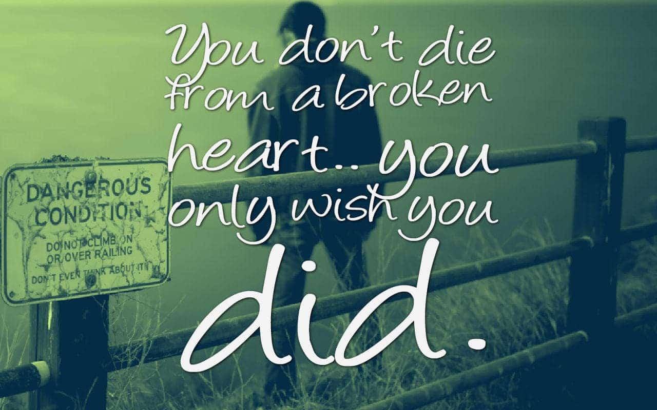 Why Did U Break My Heart Quotes: Broken Heart Fb Dps